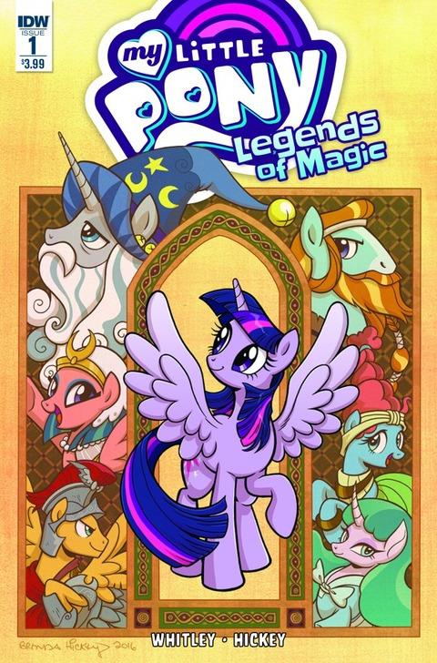 【MLPコミック】Legends of Magic #1 リリース!【ネタバレ】
