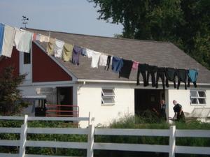 アーミッシュの洗濯物