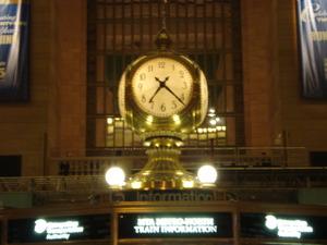 グランド・セントラル駅の時計