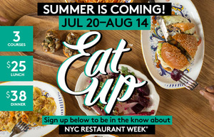NYC Restaurant Week Summer 2015
