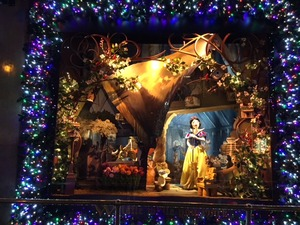 Saks Fifth Avenue window