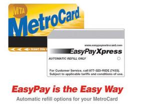 EasyPay MetroCard