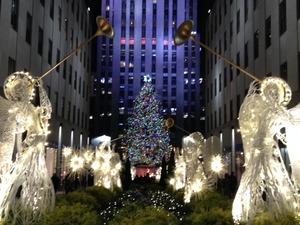 ロックフェラー・センター・クリスマス・ツリー2013
