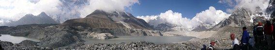 イムジャ氷河湖