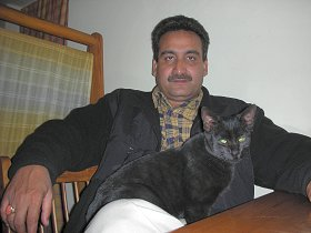 猫とおじさん