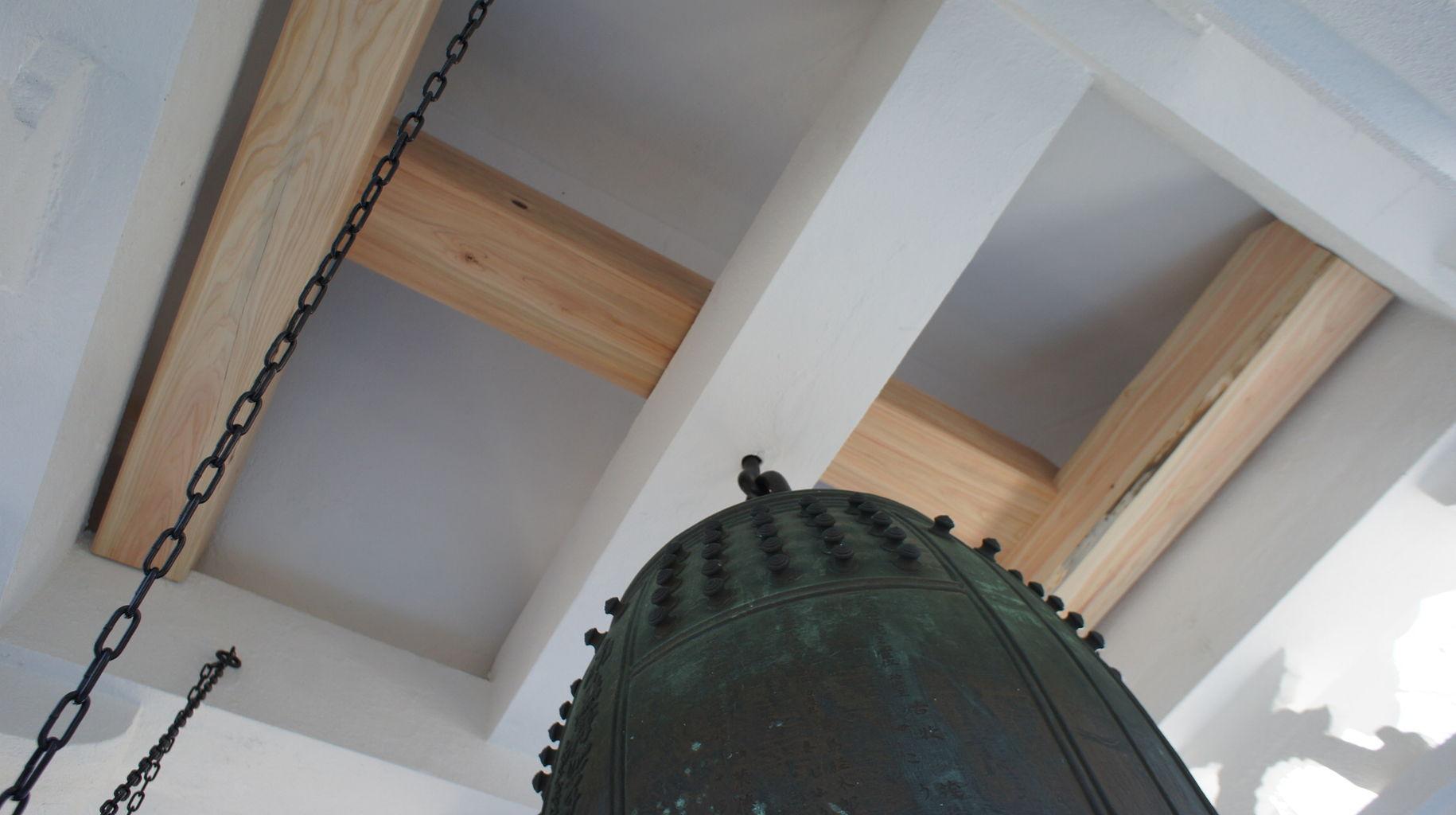 鐘楼の補強