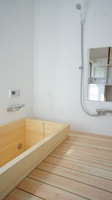 ひのき浴槽