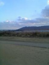 夕暮れの眉山