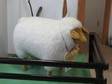 羊さんがお出迎え