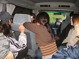 移動用バス車内