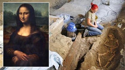 モナリザの遺骨発見 イタリア