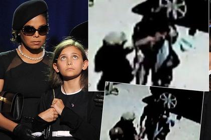 ジャネットがパリスジャクソンをシバイたとされる監視ビデオ映像