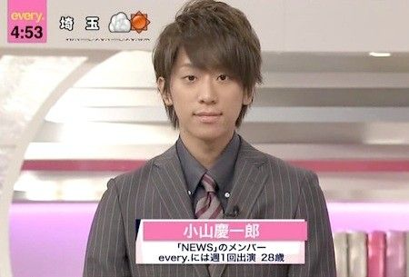 小山慶一郎 news every