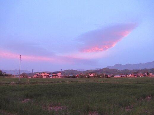 0511 夕焼け1