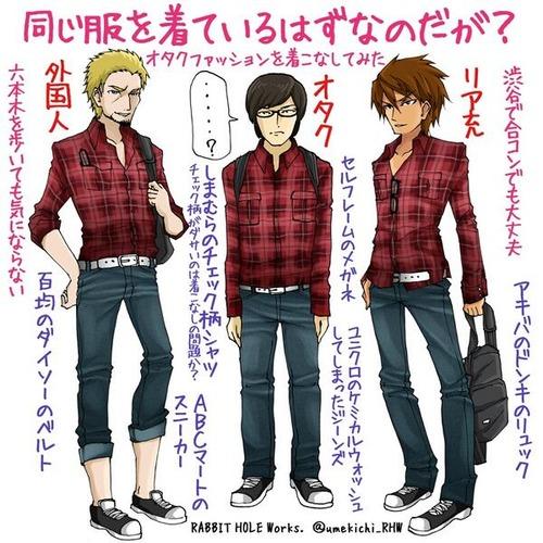 20歳過ぎたら年齢×2500円位の服で全身固めないと恥ずかしいwwwwwwwwww