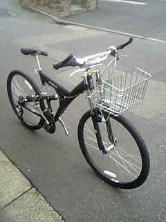 自転車の 自転車 前かご 取り付け方 : ☆ ~カスタマイズ自転車 ...