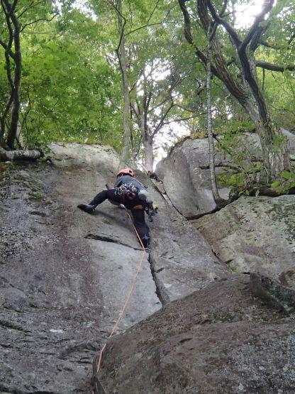 左岩稜1ピッチ