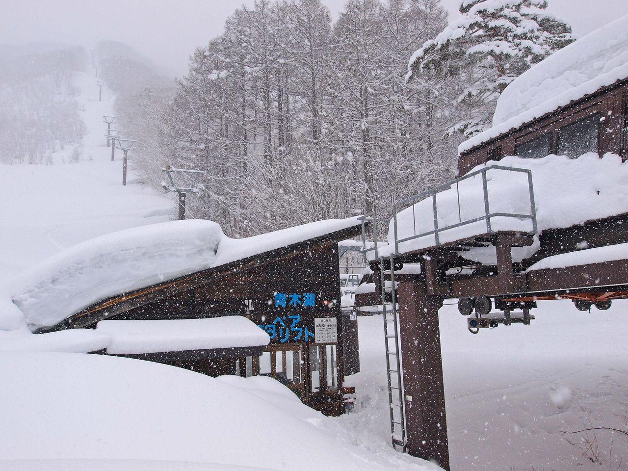 サンアルピナ青木湖スキー場
