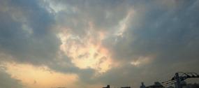 印象派的な雲