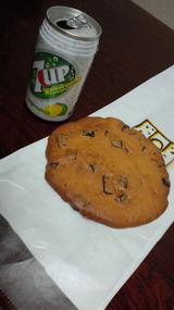 チョコチップクッキーその1