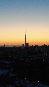 夜明けの風景1月15日版