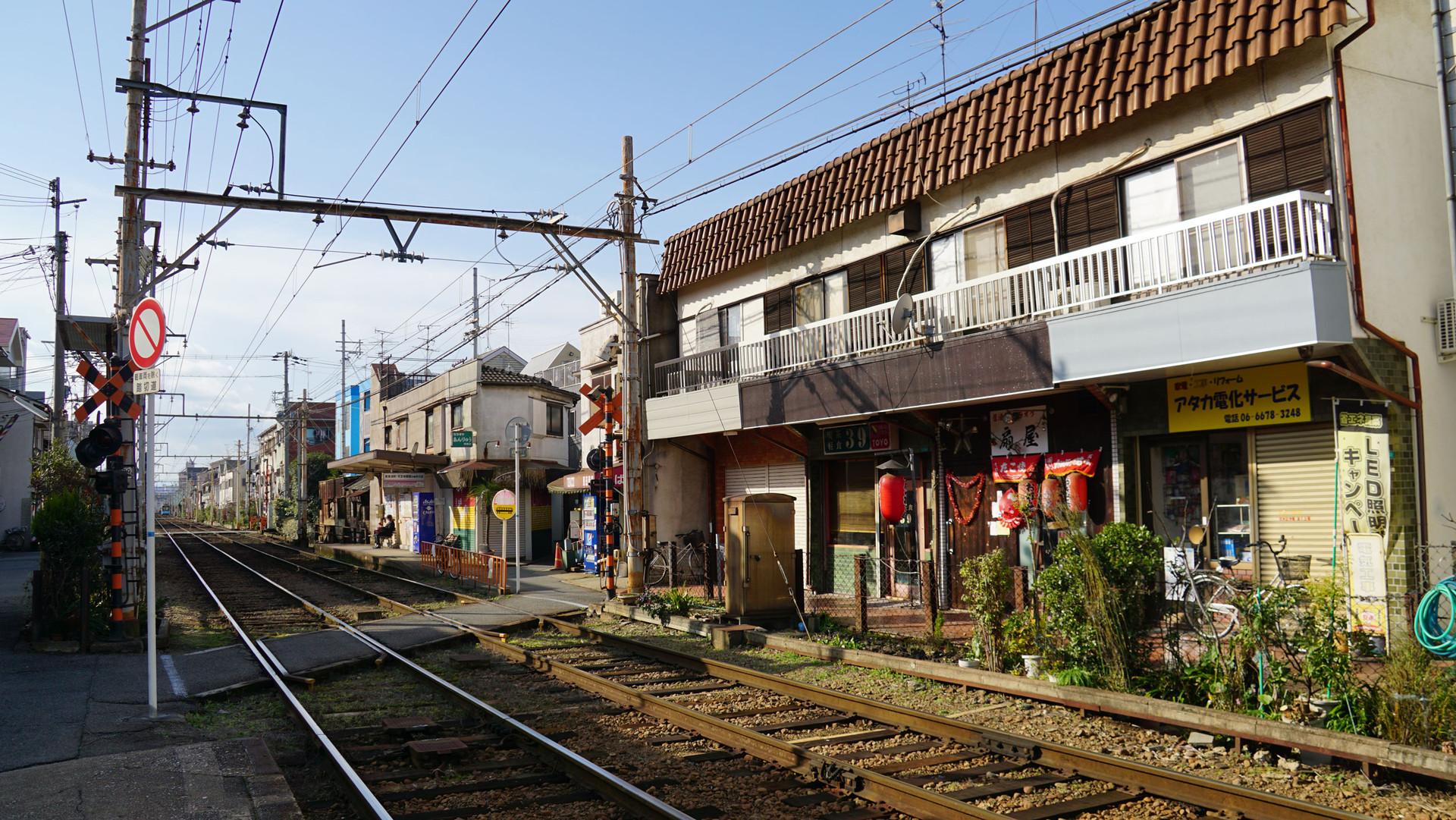 安立町(あんりゅうまち) - 路...