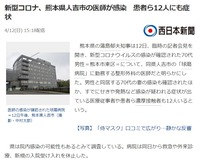 人吉市の医師感染、県立高、県内小中学校休校要請へ