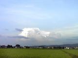 雨の前触れ雲