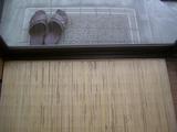 事務所側玄関マット