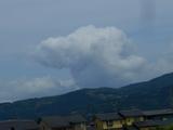 おっ!雲の形が・・・