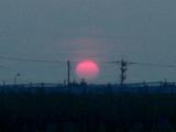 夕陽赤く3
