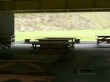 屋外ドーム作業場兼営火場