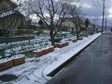 定点撮影冬積雪