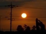 夕日の感動