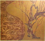 尾形光琳の紅梅図