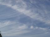 へ〜ほうき雲?