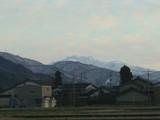 夕方の白山