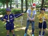 ロープ結び3年生