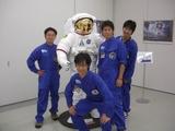 宇宙服とジュニアリーダー
