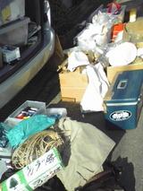 荷物いっぱい