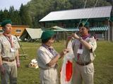 班国旗掲揚自主訓練