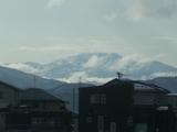 白山も見えるまずまずの天候