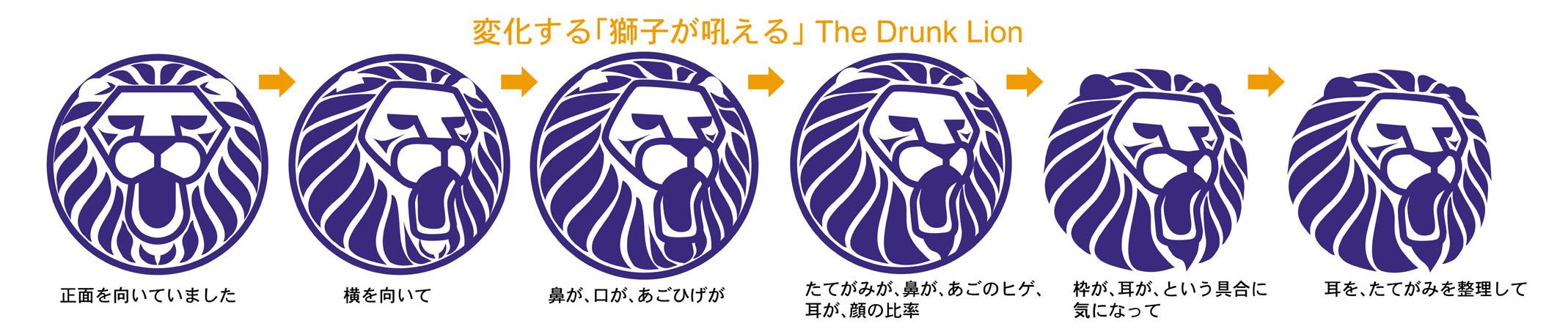 獅子は6回変身