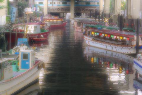 2009-7-5屋形船・河口湖 206 (2)