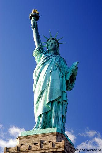 自由の女神 アメリカ グリーンカード