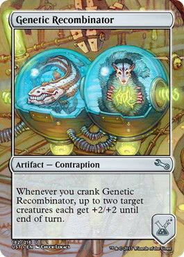 遺伝子組換え機_Genetic Recombinator