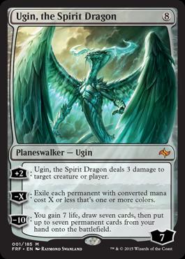 Ugin,The Spirit Dragon