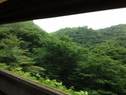 列車からの景色