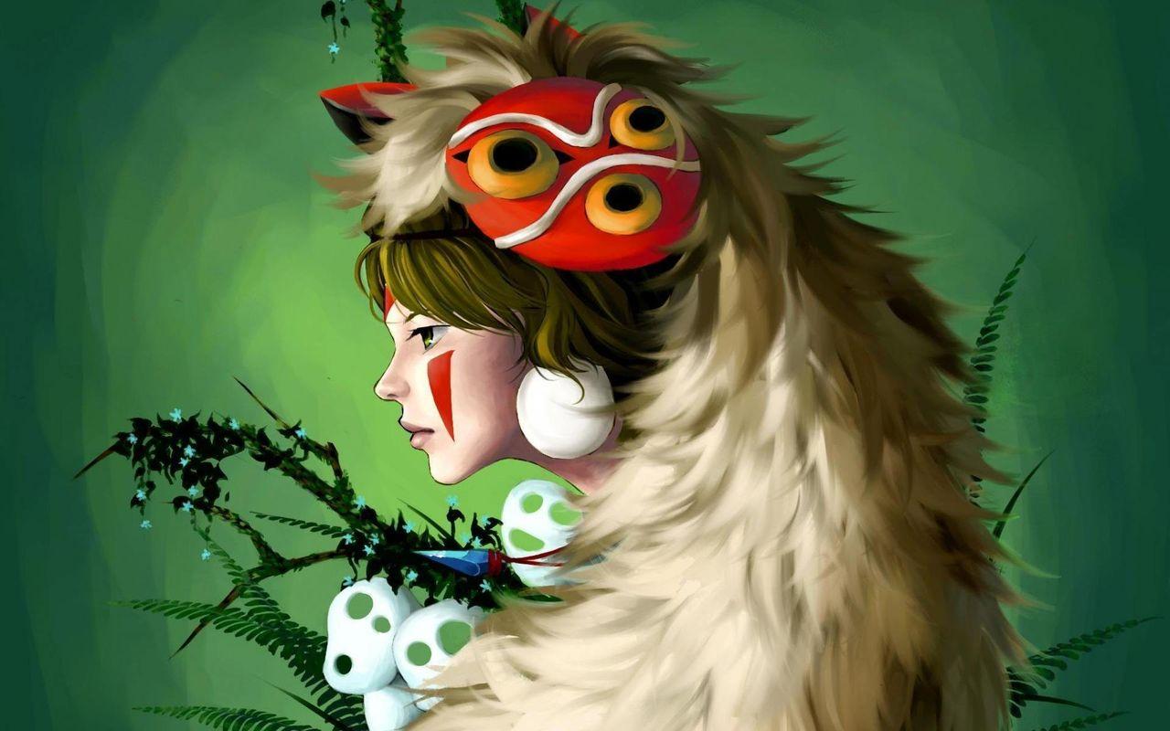 もののけ姫 幽灵公主 Luna中国語教室 ヨガ教室ブログ