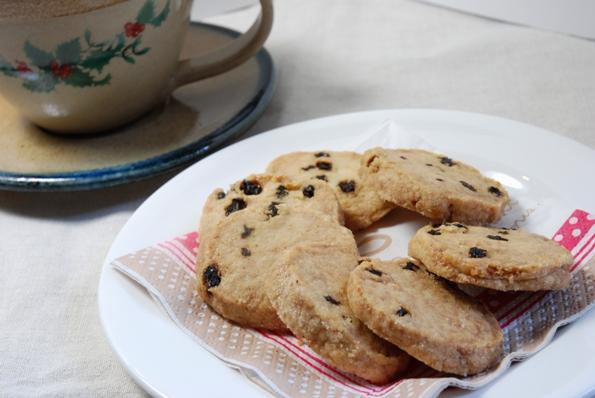 ★うさぎ食堂へようこそ★-レーズン クッキー